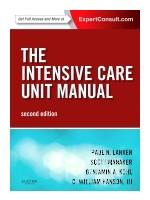 The Intensive Care Unit Manual,2/e: Online & Print